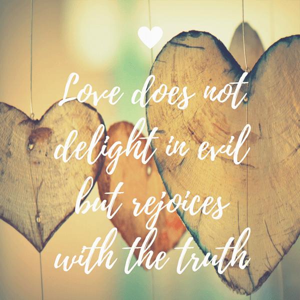 1 Corinthians 13-6