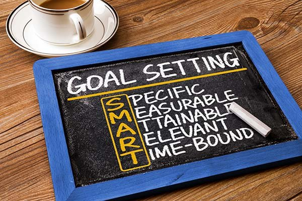 SMART goal setting graphic