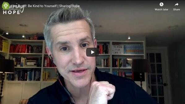 Jon Acuff Sharing Hope