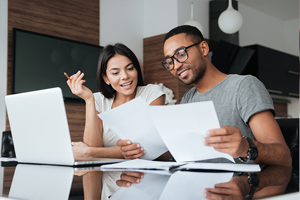 couple finances - money