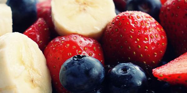 strawberry banana  blueberry