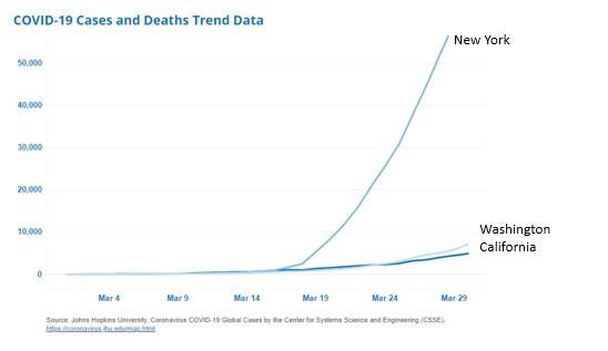 Covid-19 Death trend data