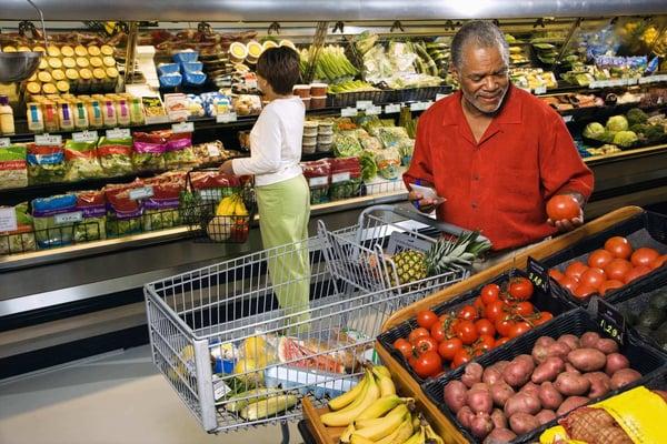 Buy fresh food