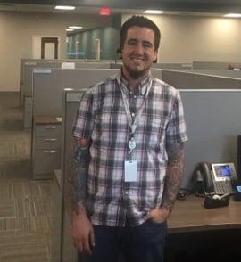 Medi-Share employee Sam Leiro