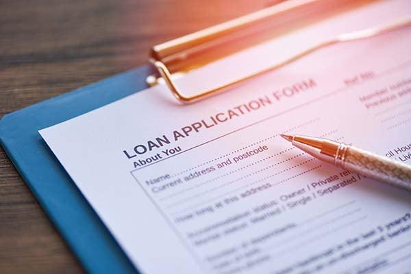 Mortgage loan application