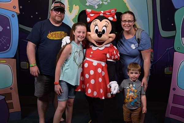 Erika Williams and family