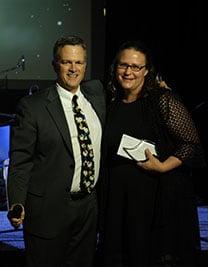 Erika and Scott Prsidents Award 2019