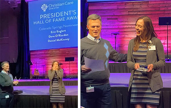 Erin Presidents Hall of Fame Award 2019