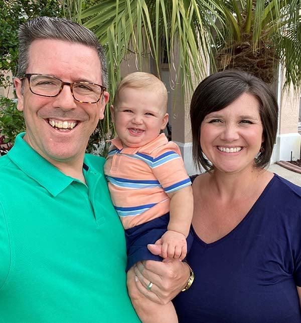 Evelio Silvera and family