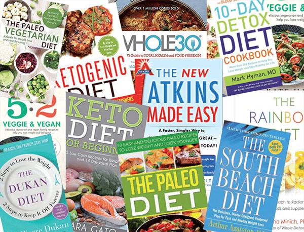 Fad diet magazines