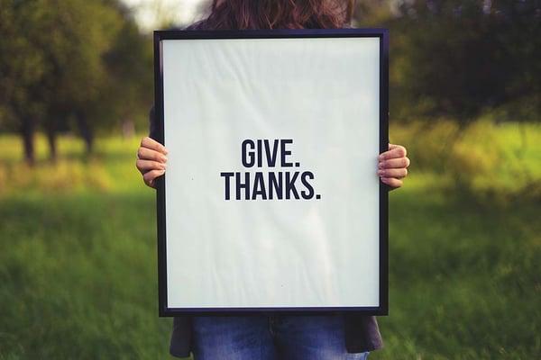 Give Thanks - Unsplash