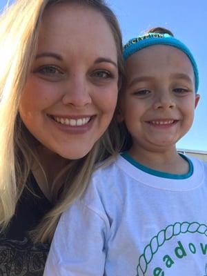 Noel Osborne with daughter
