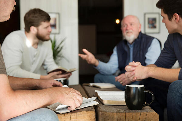 Men in Bible study