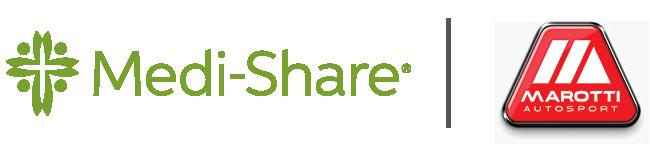 Medi-Share and Marotti Autosport's Partner Logo