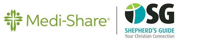 Medi-Share and Shepherd's Guide partner logo