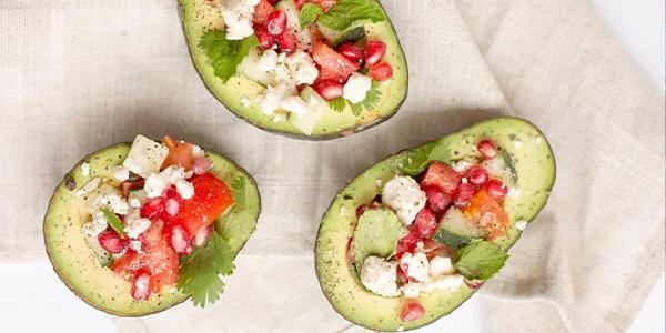 avocado stuffed with chicken salad