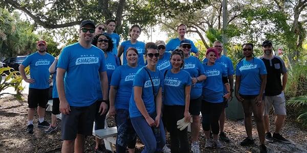 employee group volunteering