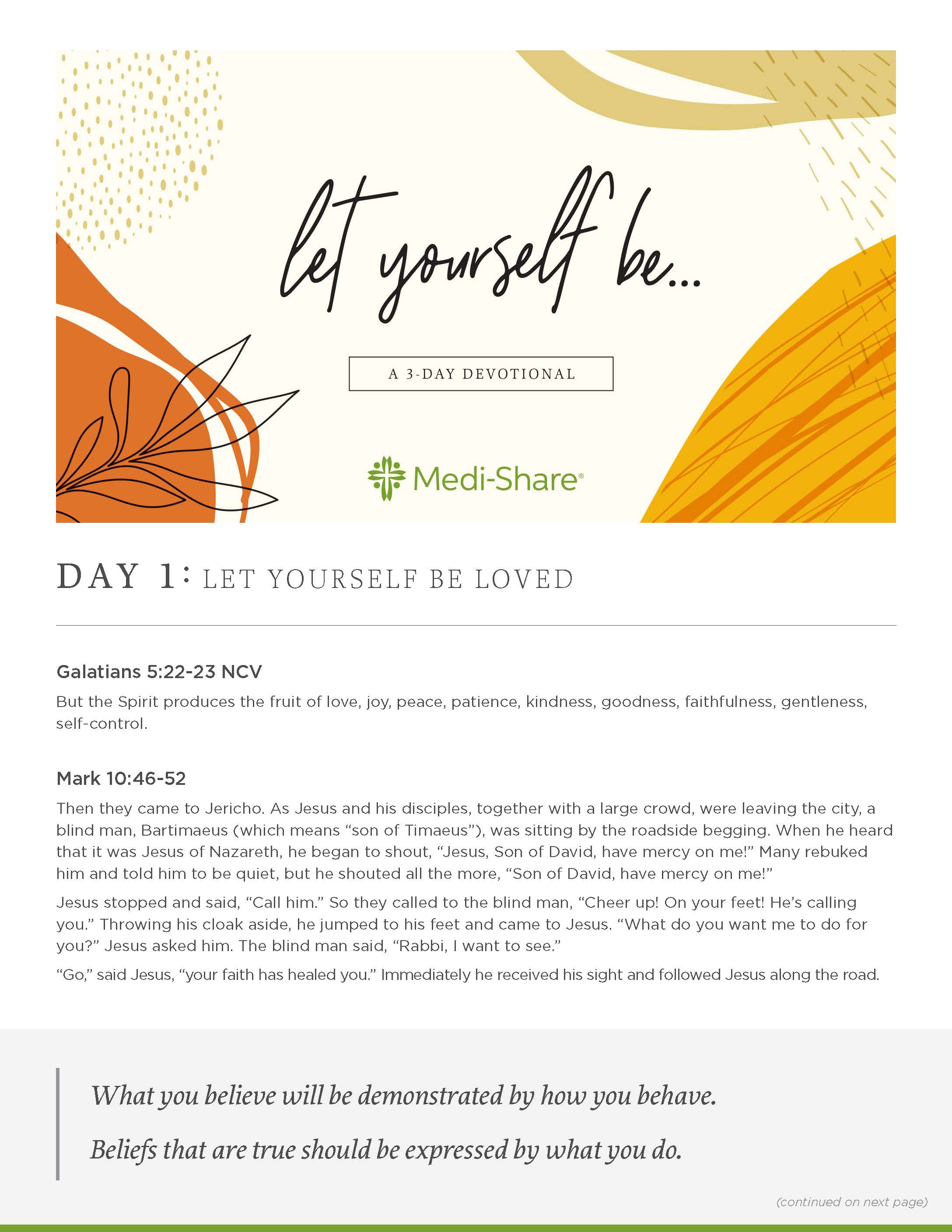 devotion - MediShare_Let Yourself Be_01_Page_1