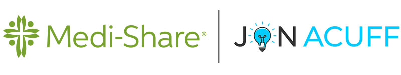 Medi-Share and Jon Acuff co-branded logo