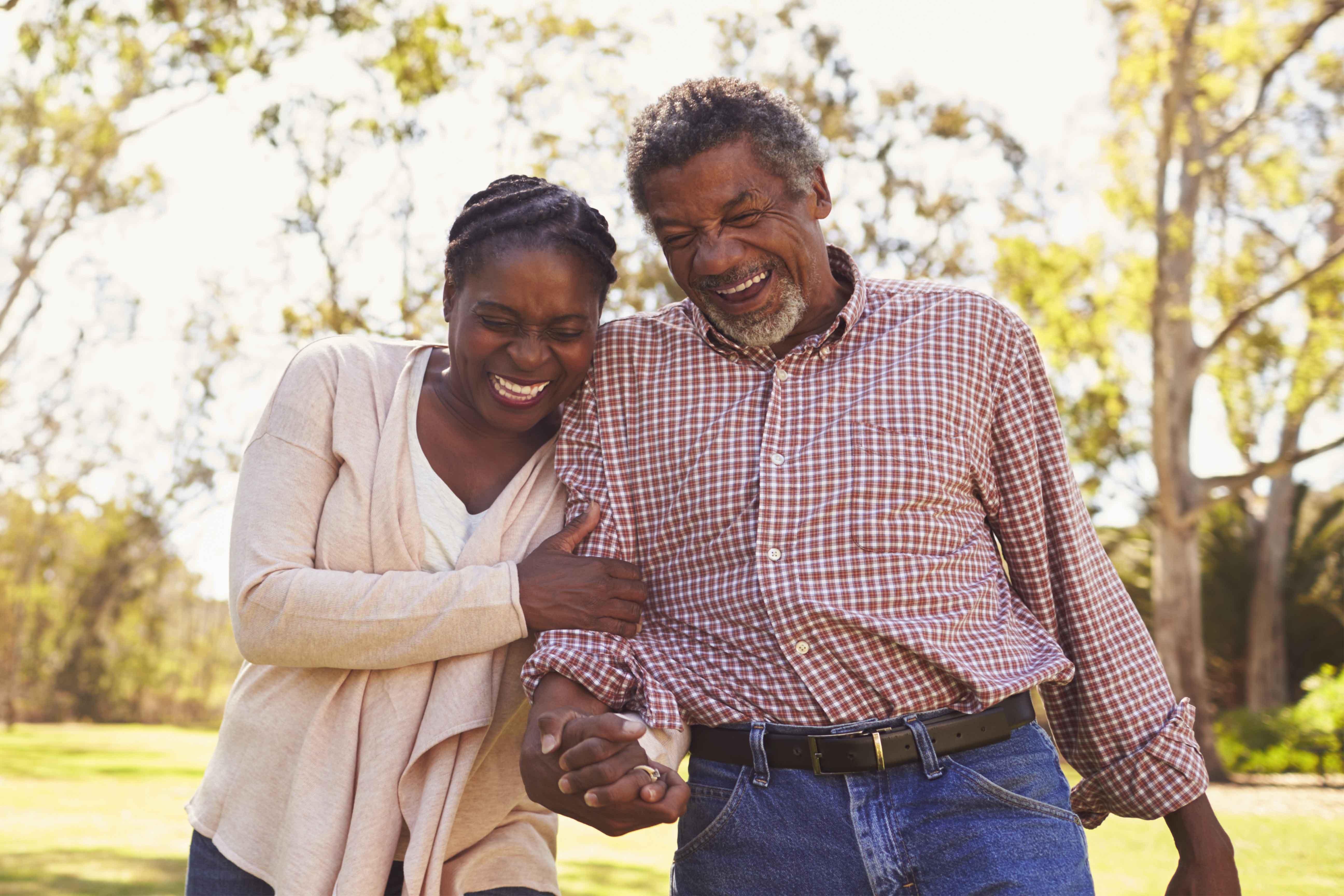 Medi-Share Senior Assist Couple On A Walk