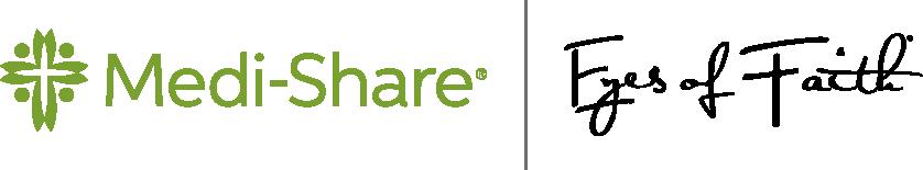 Medi-Share and Eyes of Faith Co-branded Logo