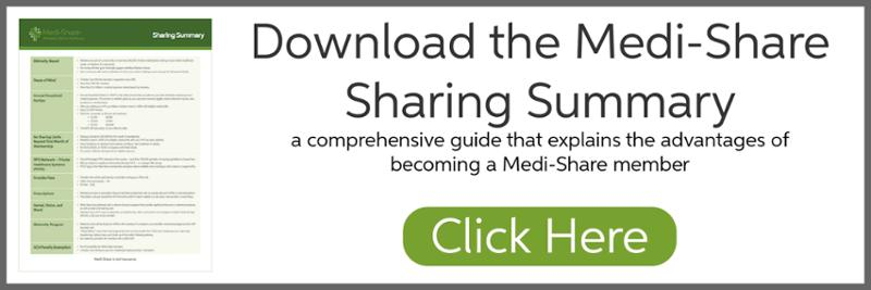 Download the Medi-Share Sharing Summary